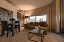 De presidentiële suite van het Bilderberg Parkhotel Rotterdam