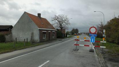 Deinsesteenweg (N494) vrijdag weer open voor alle verkeer