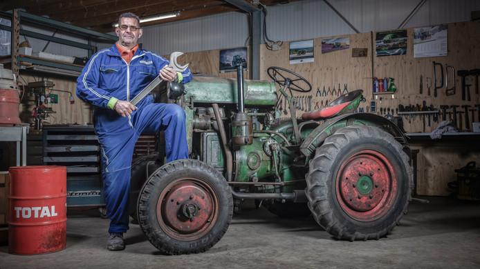 Leen Donker: ,,Toen ik vijf jaar oud was, reed ik al thuis op het landbouwbedrijf van mijn vader met de trekker door het land om de oogst binnen te rijden. Een machtig gevoel.''