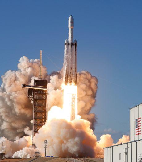Nasa kiest raket SpaceX voor missie naar Jupiter-maan 'Europa'