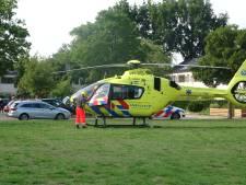 Traumahelikopter naar Meppel: vrouw krijgt allergische reactie na wespensteek in hals