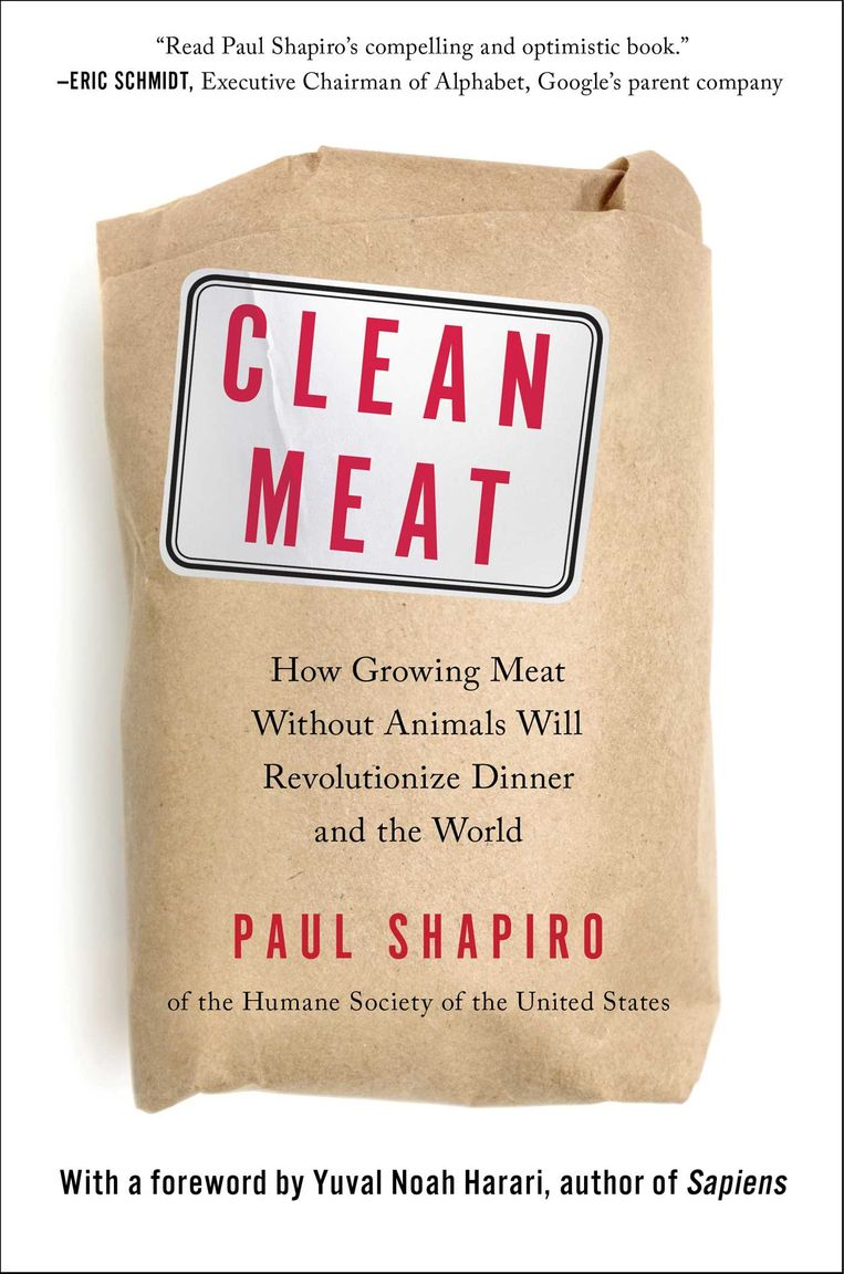 Paul Shapiro: Clean Meat, Gallery Books (2018) Beeld rv