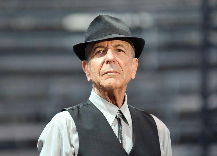 Leonard Cohen in Nîmes. Beeld null