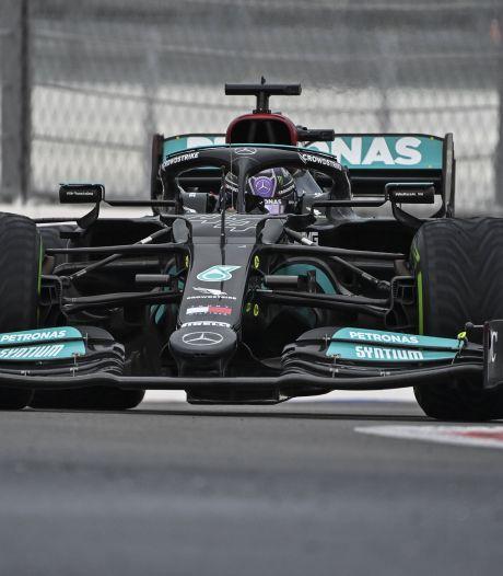 Un GP de Russie haletant, Lewis Hamilton remporte sa 100e victoire