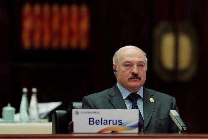 De Wit-Russische president Alexander Loekasjenko