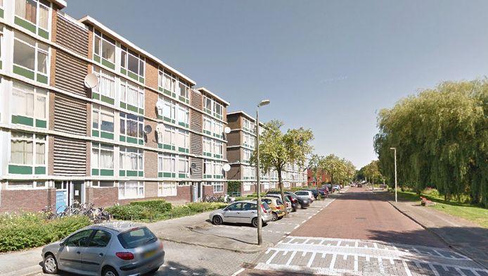 De Nijeveldsingel in Hoograven, Utrecht.