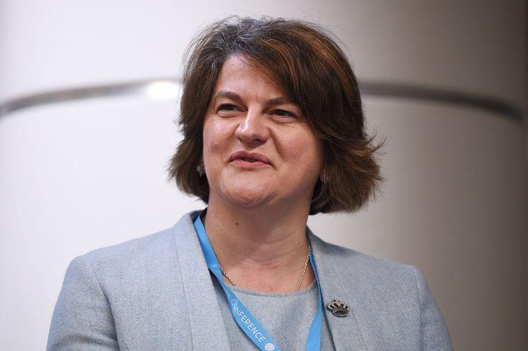 Premier van Noord-Ierland, Arlene Foster. Beeld AFP