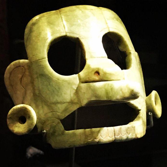 België geeft 1.000 jaar oud gestolen Maya-masker terug aan Guatemala.