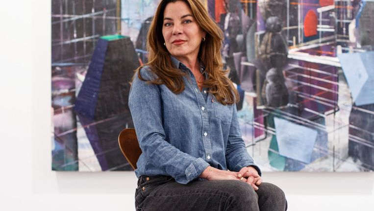 'Ik heb een haat-liefdeverhouding met de Nieuwmarktbuurt' Beeld Carly Wollaert