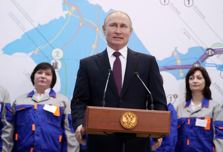 Tim Marshall: 'Als Poetin de Oekraïense Donbass-regio zou innemen, de havens van Mariupol, Odessa én Moldavië, zou hij heel veel terrein winnen.' Beeld BELGAIMAGE