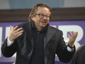 """Marc Coucke zelfkritisch over zijn werk bij Anderlecht, maar hij denkt niet aan verkoop: """"Zelfs niet na een titel"""""""