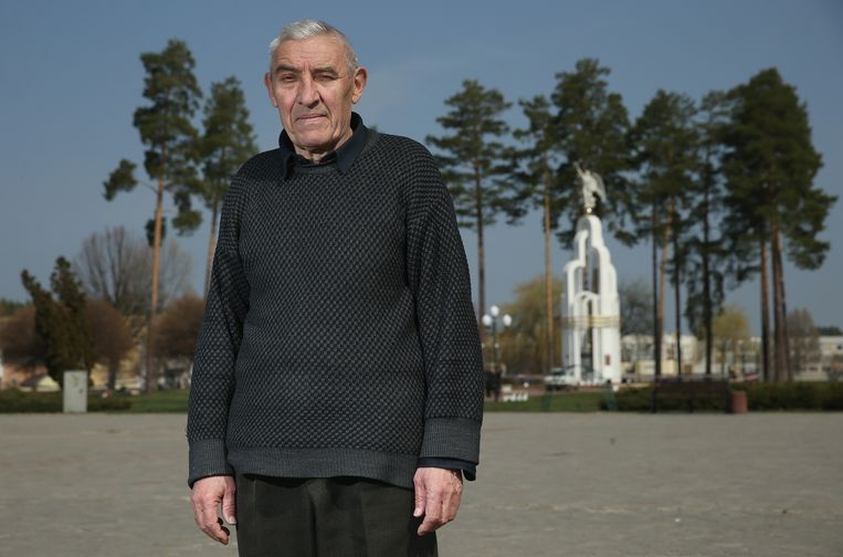 Vasili Markin, ex-werknemer Tsjernobyl. Beeld Getty Images