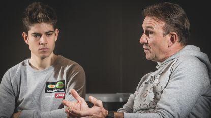"""Johan Museeuw, vijfvoudig winnaar Kristallen Fiets: """"Ik zeg al twee jaar dat Wout gemaakt is om op de weg te koersen"""" - Van Aert: """"Ik doe wat ik leuk vind"""""""
