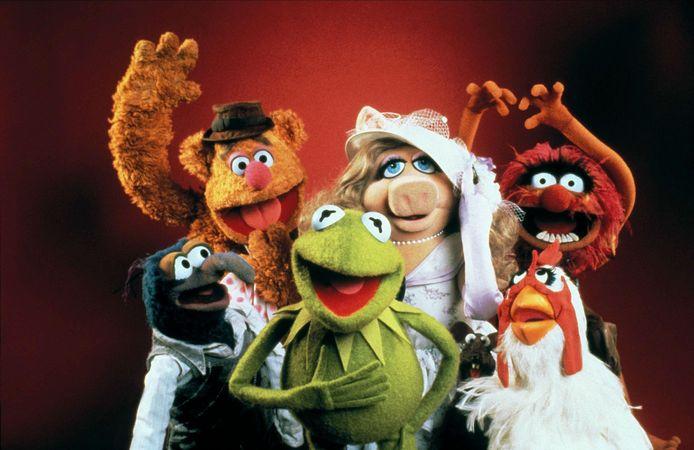 The Muppets, van wie Kermit de kikker en Miss Piggy de meest iconische personages zijn.