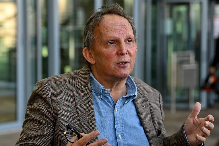 Johan Platteau, advocaat van Nasimeh Naami.  Beeld BELGA
