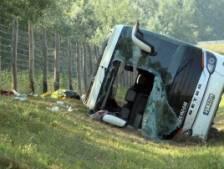Un mort et trois blessés graves, dont un enfant, dans un accident de bus touristique en Hongrie