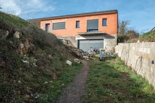 Le domicile familial, à Cagnac-les-Mines