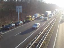 File A28 richting Amersfoort na ongeval bij Nunspeet