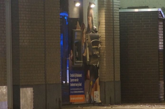 Plofkraak op pinautomaat Rabobank in Kaatsheuvel