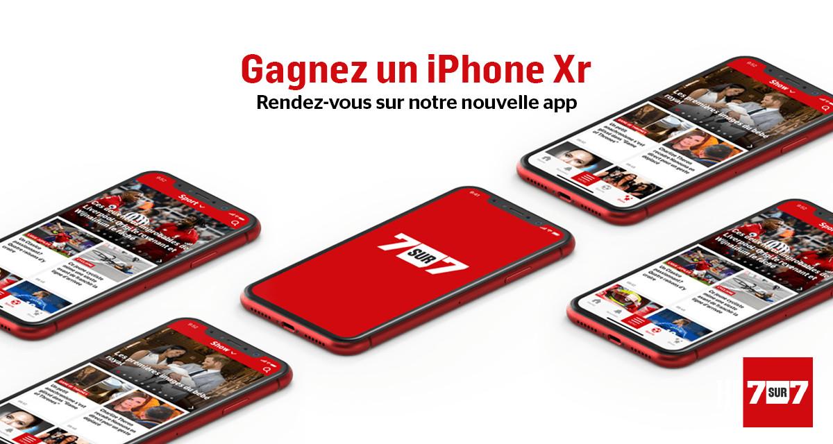 Gagnez votre iPhone Xr via notre nouvelle app