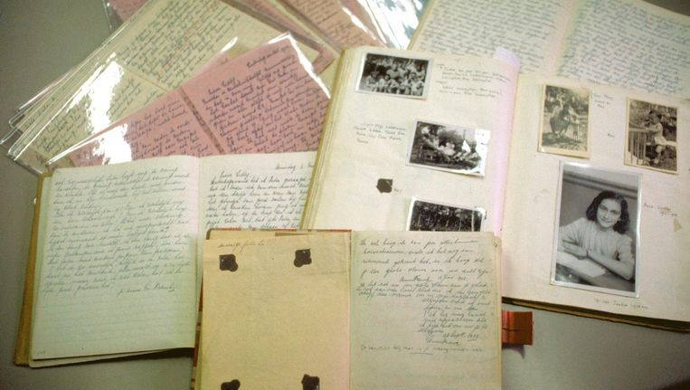 De dagboeken van Anne Frank Beeld ANP