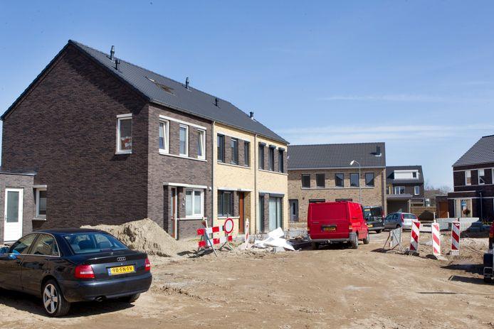 2011: Kerkwijk in Didam in aanbouw. De komende jaren zullen er in Montferland de nodige nieuwe wijken bijkomen.