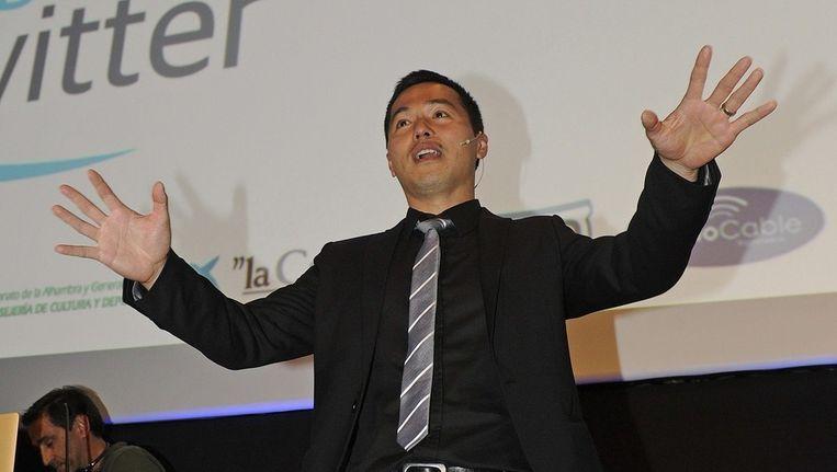 De Britse algemeen directeur Tony Wang van Twitter. Beeld EPA