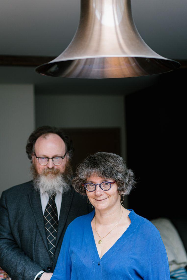Michel Vuylsteke en Sandra Pattyn.  Beeld Wouter Van Vooren