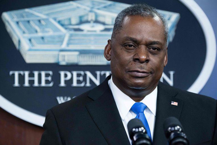 De Amerikaanse minister van Defensie, Lloyd Austin.  Beeld AFP
