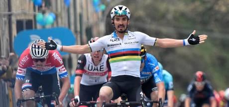 Alaphilippe niet bezig met revanche in Amstel Gold Race: 'Wordt een lastige en nerveuze koers'