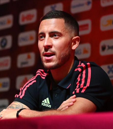 """Eden Hazard : """"Les matchs amicaux vont me faire du bien"""""""