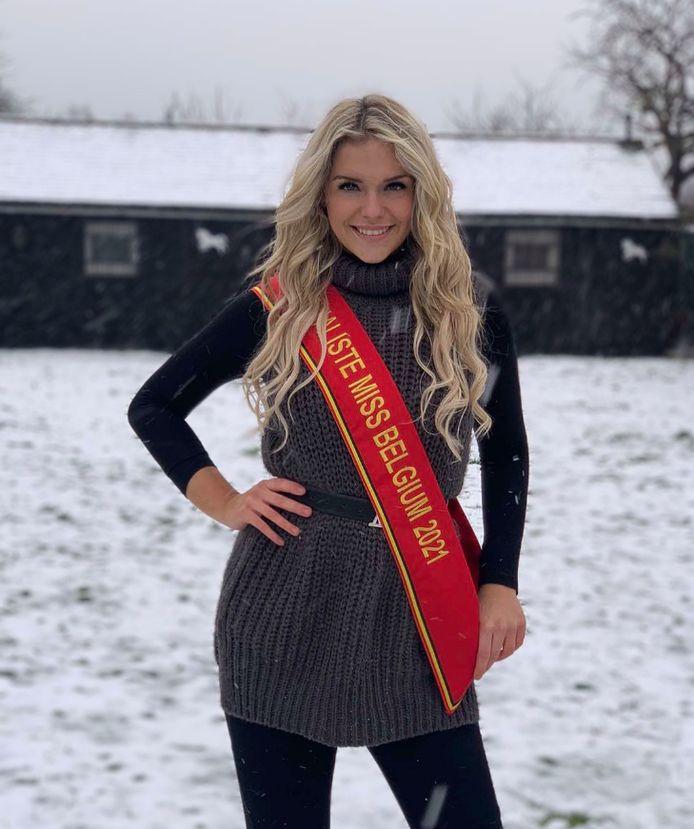Lara, finaliste Miss Belgium.