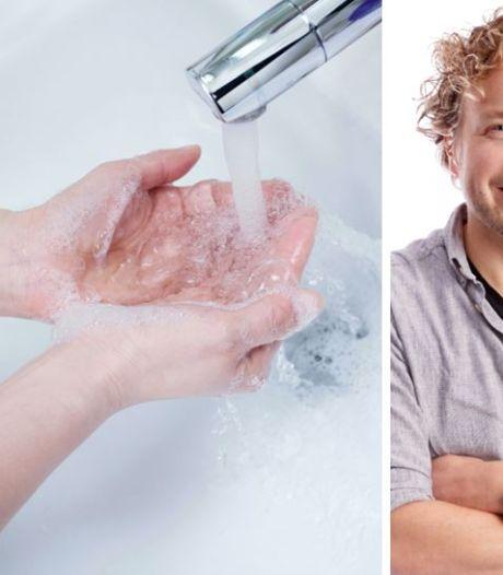 Zeep niet aan te slepen... dus sommige mensen denken nú pas aan handen wassen?