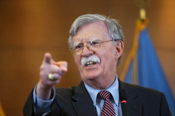 John Bolton is niet langer nationaal veiligheidsadviseur in het Witte Huis.