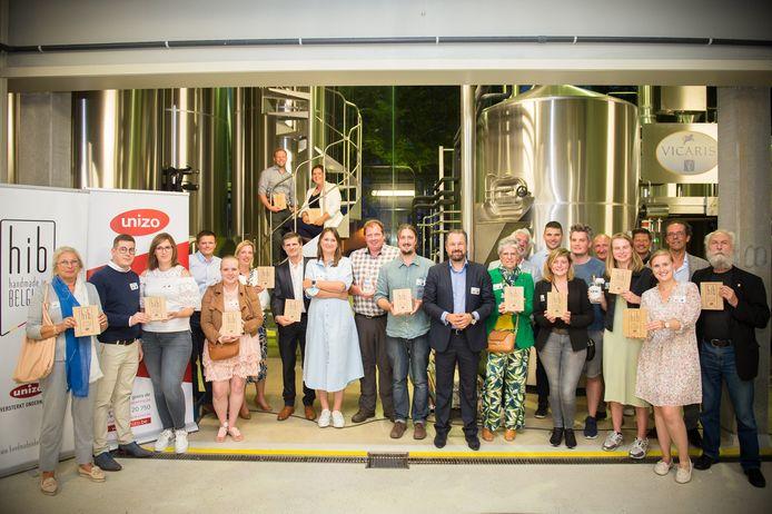 13 Oost-Vlamingen ontvingen het Handmade in Belgium-label.