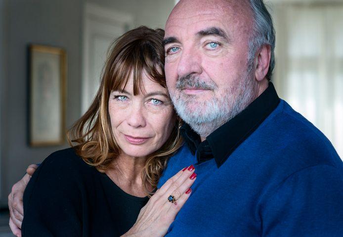 Michel van dousselaere en vrouw Irma.