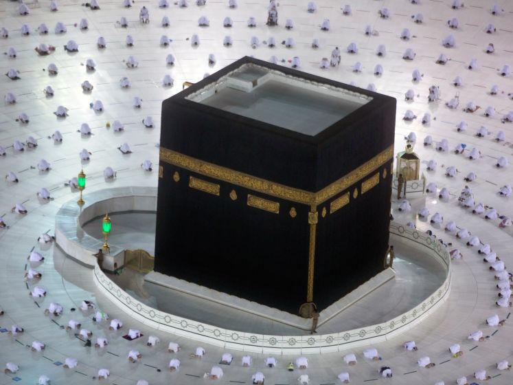 Op bedevaart naar Mekka, maar dan op 1,5 meter afstand