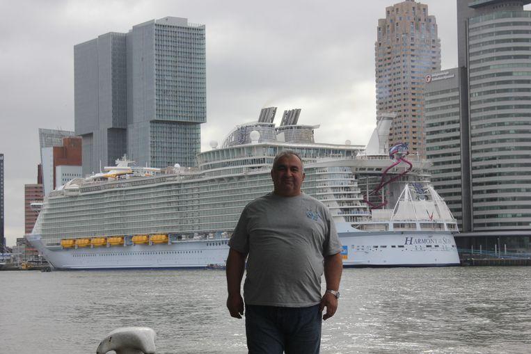 Arout Gougoulian voelde zich thuis in Rotterdam. Beeld