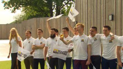 """""""Linkse ratten, rol uw matten"""": VB-jongeren vieren verkiezingsuitslag"""