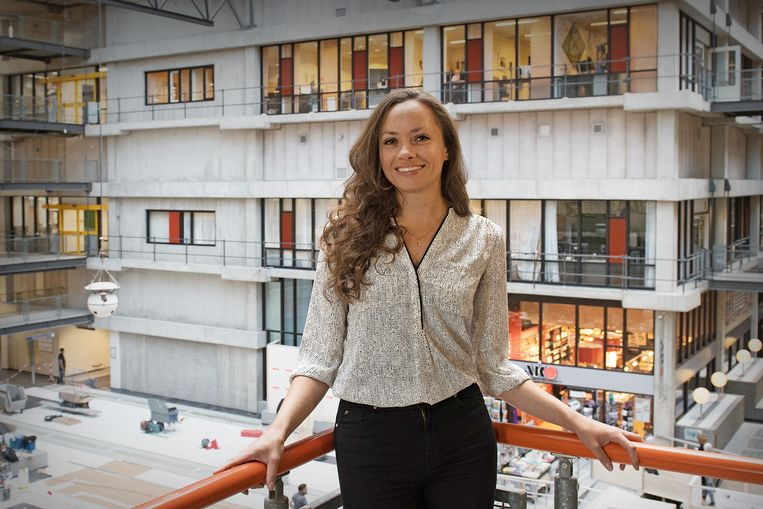 Michelle Klouwens. Beeld Rogier Reker / Amsterdam UMC