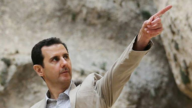 De Syrische president Bashar al-Assad Beeld ap
