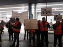 Gedupeerden demonstreerden, begin 2019, voor een hogere slachtoffervergoeding. ARCHIEFFOTO