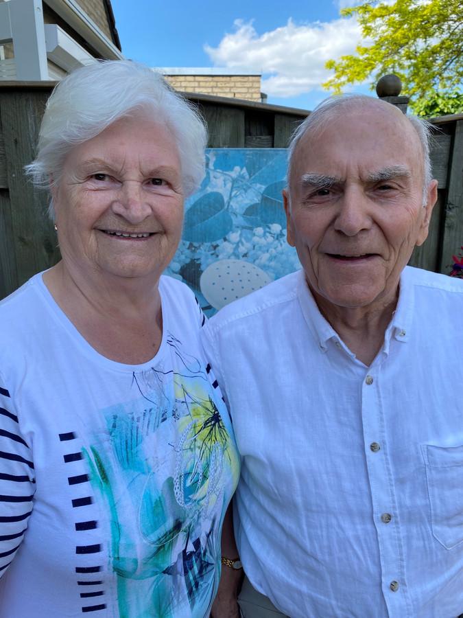 Echtpaar Paulissen-Salfischberger is 28 juli 60 jaar getrouwd.