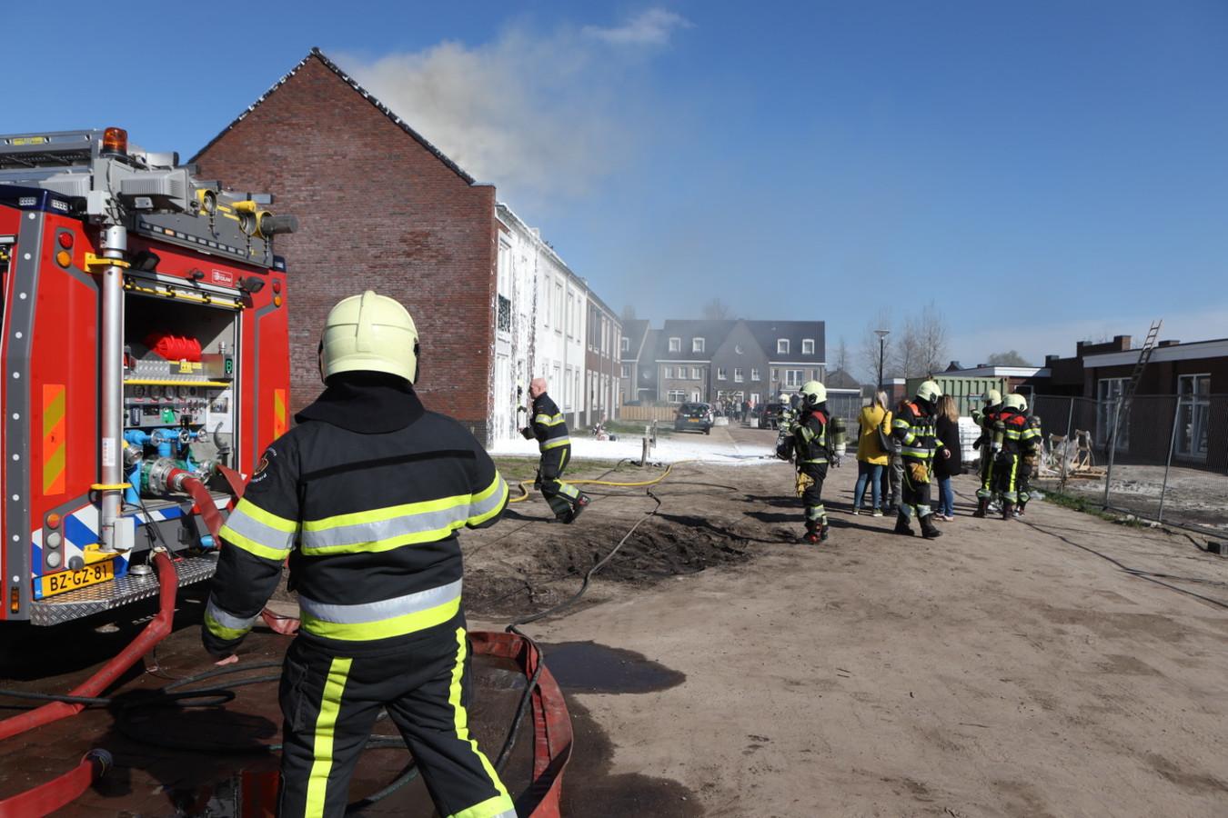 Woningbrand in Sint-Oedenrode