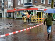 Enexis checkt nu ook gasleiding naast waterleidingbreuk Enschede