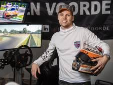 Larry ten Voorde in Zandvoort naast podium Porsche Supercup