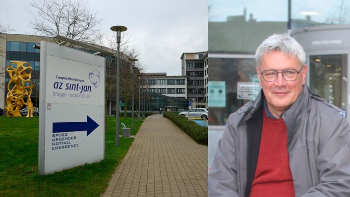 Directeur Hans Rigauts van AZ Sint-Jan, waartoe Campus Henri Serruys in Oostende behoort.