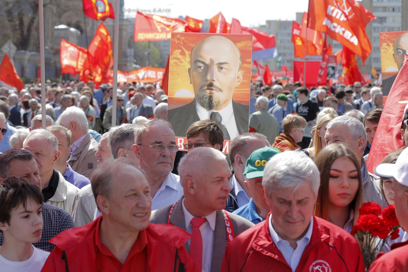 De Dag van de Arbeid wordt in Rusland ieder jaar wel groots gevierd.