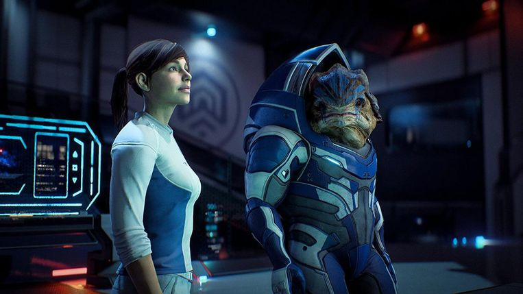 Romance in Mass Effect: 'Mijn sterrenstelsel of het jouwe?' Beeld BioWare