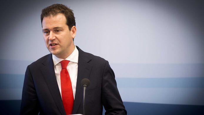 Minister Lodewijk Asscher van Sociale Zaken.